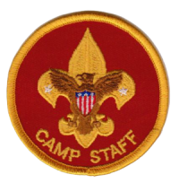 Camp Staff patch