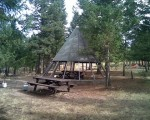 The Teepee at the Arapaho campsite