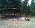 Hebner campsite and shelter